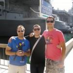 Matt Trainer, Ryan Higgins and I