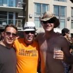 Sean McAlister, Ryan Higgins and I, San Diego, USA