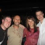 Larry, Oksana, George and I, San Diego, USA