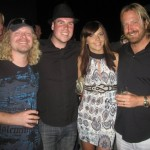 Craig Perrine, Oksana, Frank Kern and I, San Diego, USA